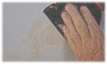 اصلاح ثقب في جدار من الجبس